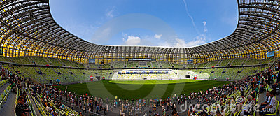 PGE Arena, stadium in Gdansk, Poland Editorial Photo