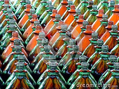 Phalanx of Bottles