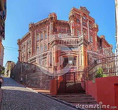 Phanar Greek Orthodox College In Istanbul Editorial Image ...