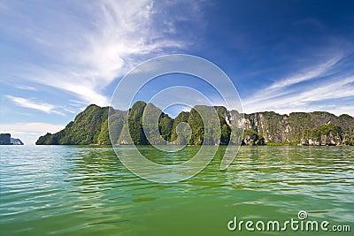 Phang Nga Bay from the boat