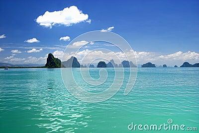 Phang Nga Bay island