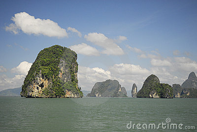 Phang Nga Bay National Park in Thailand