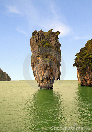 Phang Nga Bay, in Thailand