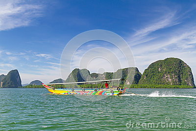 Phang Nga Bay trip on long tail boat