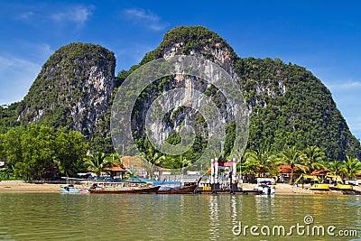 Phang Nga Bay trip in Thailand