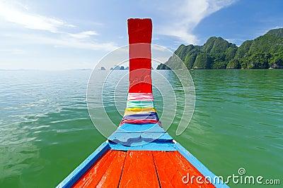 Phang Nga Bay trip on traditional long tail boat