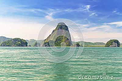 Phang Nga National Park in Thailand