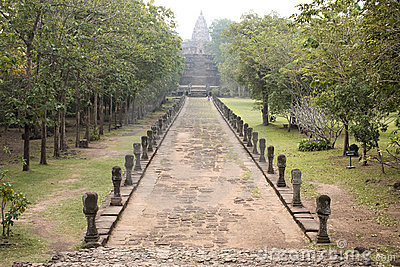 Phanom Roonk ancient in Thailand