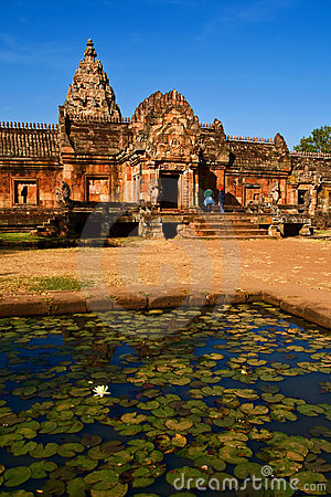 Phanom rung national park at Thailand