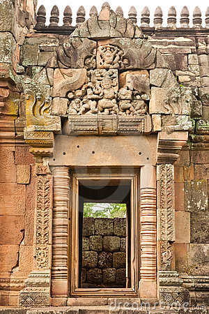 Free Phanom Rung Stone Ruins, Northeast Of Thailand. Royalty Free Stock Image - 10568176