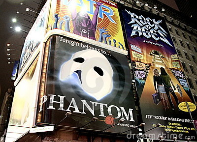 Phantom of the Opera Editorial Stock Photo