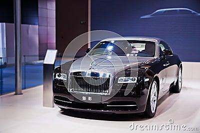 The phantom of Rolls-Royce Editorial Stock Photo