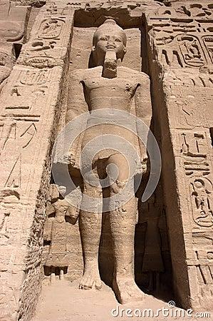 Pharaoh at Abu Simbel, Ancient Egypt Travel
