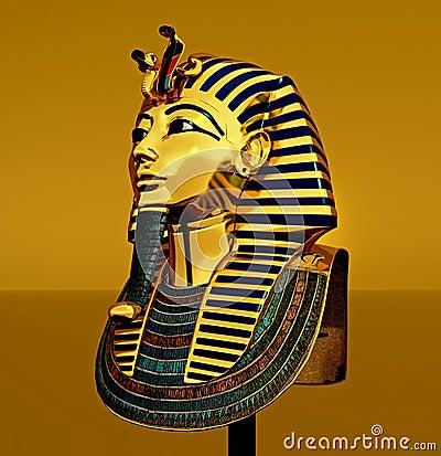 Pharaoh death mask
