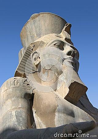 Pharaoh Ramses II - rey antiguo de Egipto