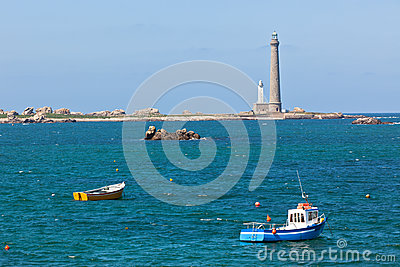 Phare de l Ile Vierge - Lighthouse in Brittany