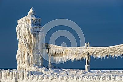 Phare du nord de pilier de st joseph photo stock image 29110810 - Saint de glace 2018 ...
