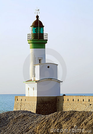 Phare du Treport, lighthouse in Normandy