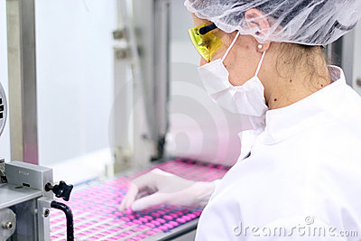 Pharmaceutical Factory - Quality Control