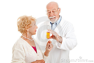 Pharmacist Giving Instructions
