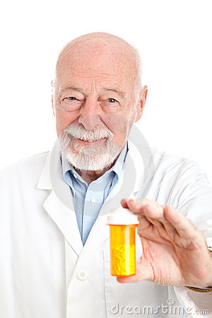 Free Pharmacist With Prescription Stock Photography - 20519582