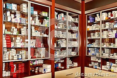 Pharmacy Editorial Photo