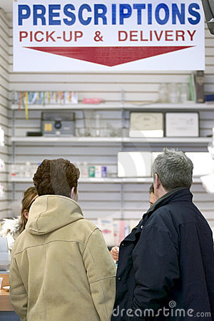 Pharmacy Pick-Up Area