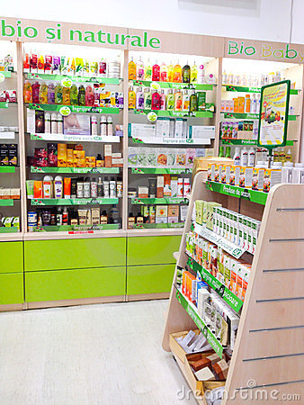Pharmacy shop Editorial Photo