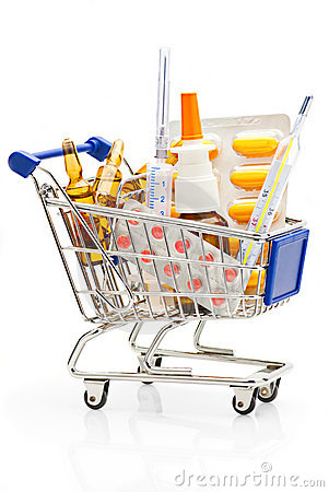 Free Pharmacy Shopping Royalty Free Stock Photo - 16497045