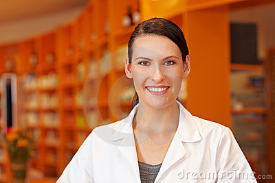 Pharmacy technician in pharmacy