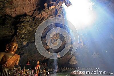 Phaya grotto in petchburi, thailand