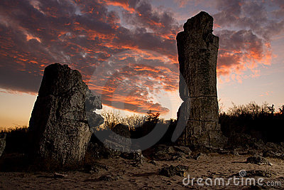 Phenomenon rock formations