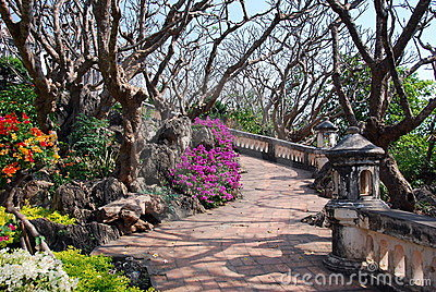 Phetchaburi, Thailand: Royal Palace Gardens