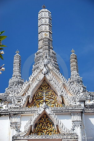 Phetchaburi, Thailand: Temple at Royal Palace