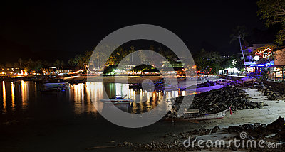 Phi Phi, Thailand at Night