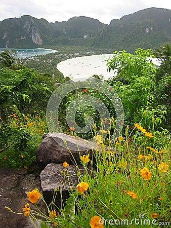 Phi Thailand viewpont wyspy