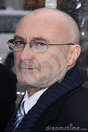 Phil Collins Editorial Image