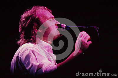 Phil Collins Entertainer Editorial Photo