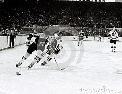 Phil Esposito Boston Bruins Fotografia Editoriale