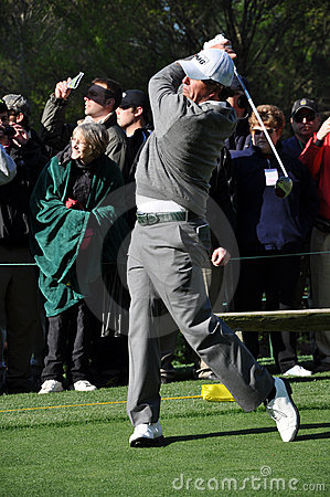 Phil Mickelson at the 2009 Masters Editorial Stock Photo