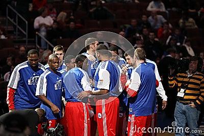 Philadelphia 76ers Editorial Image