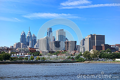 philadelphia center city tower and office building royalty free stock images image 33236439. Black Bedroom Furniture Sets. Home Design Ideas
