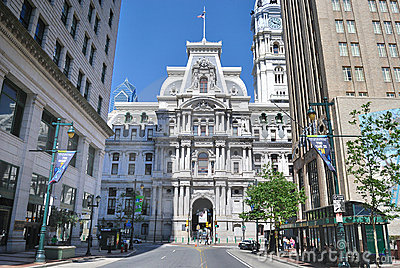 Philadelphia City Hall Editorial Image