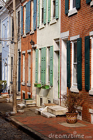 Philadelphia Colored Rowhouses
