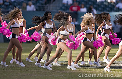 Philadelphia Eagles cheerleaders Editorial Photography