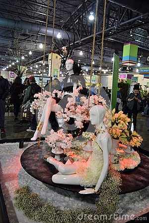 Free Philadelphia Flower Show 2017 Royalty Free Stock Images - 88310049