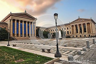 Philadelphia Museum of Art Front East Entrance