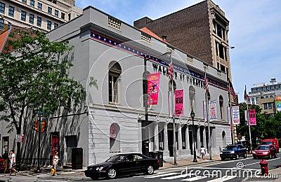 Philadelphia, PA: Historic Walnut Street Theatre Editorial Photography