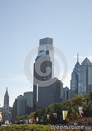 Philadelphia PA skyline