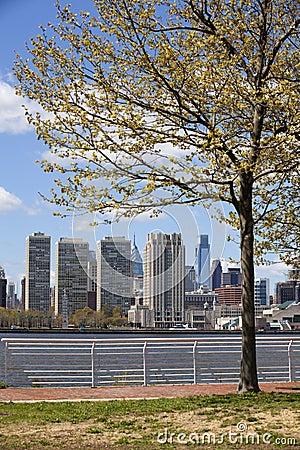 Philadelphia Skyline (early spring)
